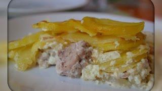 Свинина с картофелем в духовке