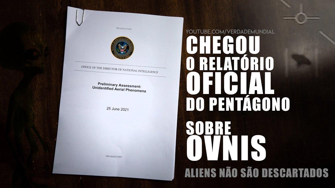 Relatório Preliminar do Pentágono sobre OVNIS (Download)