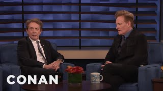 Martin Short & Conan On Meeting Your Heroes - CONAN on TBS