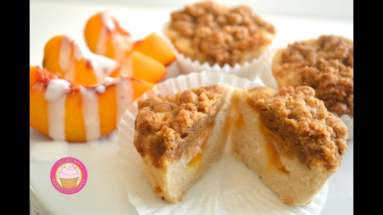 Buttermilk Peach Coffee Cake Recipe