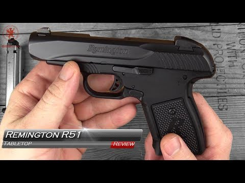 Remington R51 Tabletop Review and Field Strip