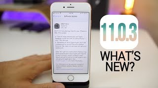 iOS 11.0.3 Released - Last Chance For Some