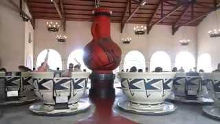 Best Chubasco EVER!! Teacups Six Flags Great America 6-21-14