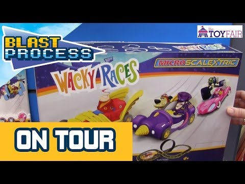 Wacky Races Micro Scalextric At London Toy Fair 2019 – plus Justice League & Looney Tunes Race Sets!