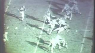 1967 Indiana Football - Terry Cole Touchdown