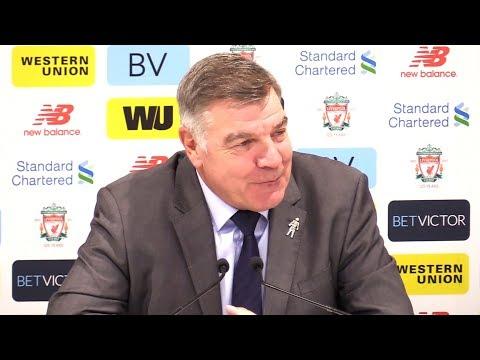 Liverpool 1-1 Everton - Sam Allardyce Post Match Press Conference - Premier League #LIVEVE