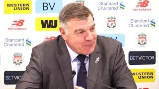 Liverpool 1-1 Everton - Sam Allardyce Post Match Press Conference - Premier League #LIVEVE
