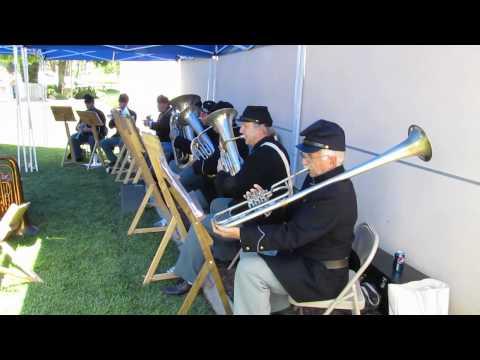 """Battle Hymn of Republic"" .mov Civil War Brass Band"