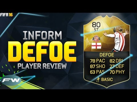 FIFA 16 IF DEFOE Review (80) w/ In Game Stats & Gameplay