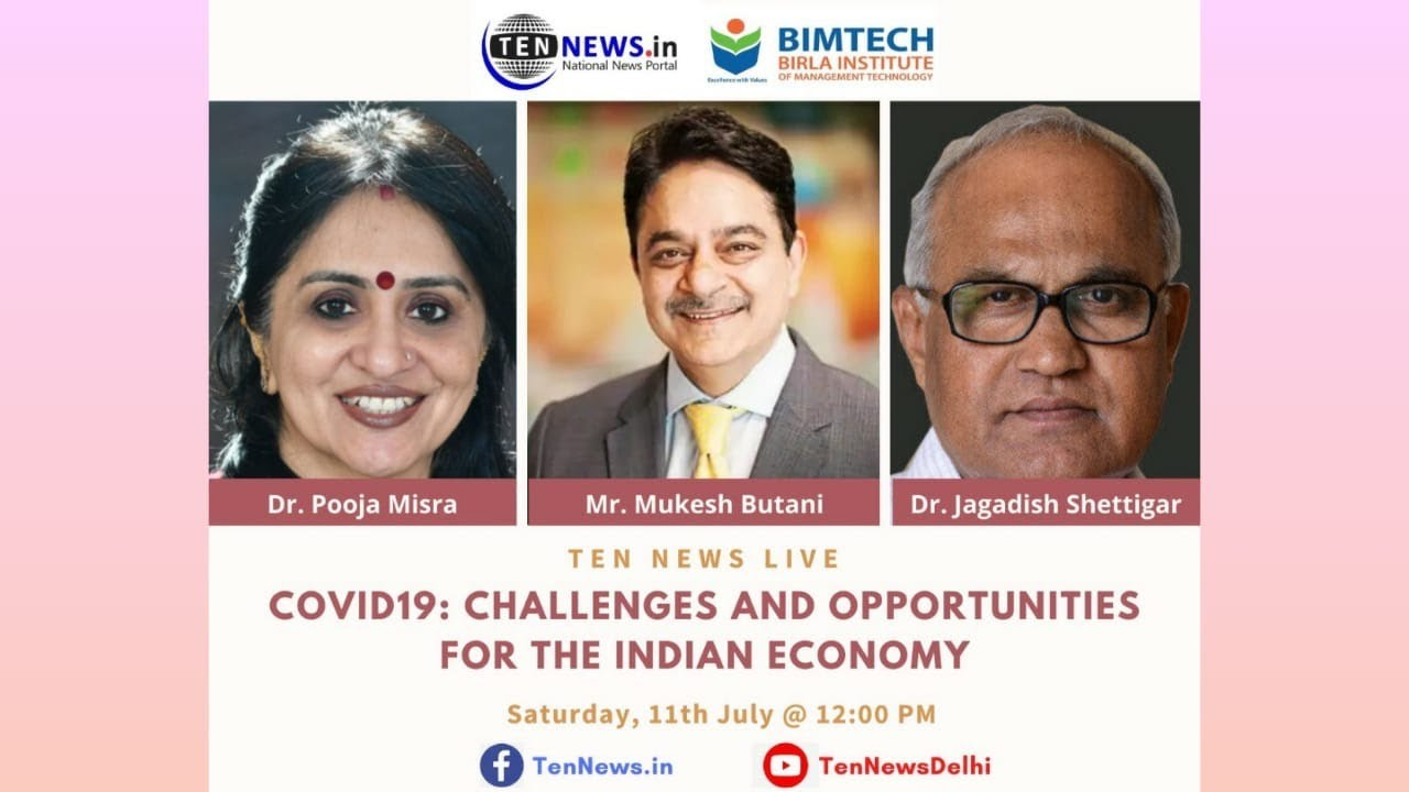 Covid 15 Challenges and Opportunities for the Indian Economy
