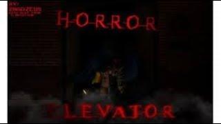 passando medo no roblox(the horror elevator)