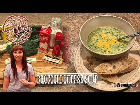 Broccoli Cheese Soup - How to Cook