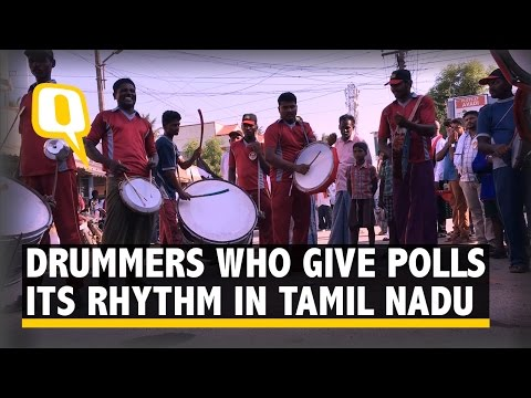 The Quint: The Drummers who Give Tamil Nadu's Election its Rhythm