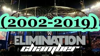 Elimination Chamber (2002-2019) Winners / Ganadores