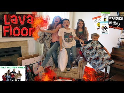 Thumbnail: SECRET NINJA MISSION AND FLOOR IS LAVA / That YouTub3 Family