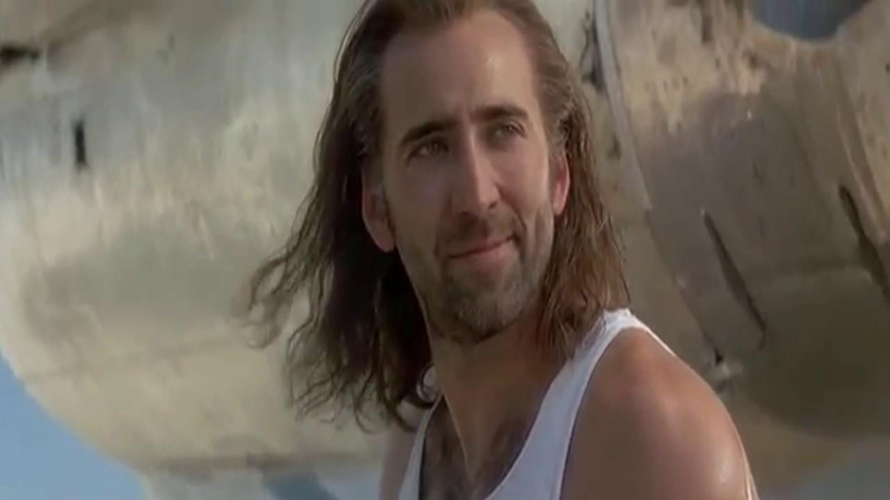 Download Nicolas Cage Long Hair Con Air PNG