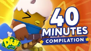 40 Minutes Songs & Series Compilations   Nursery Rhymes & Songs For Kids   Didi & Friends English