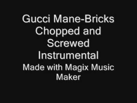 Gucci Mane-Bricks Slowed Down Instrumental