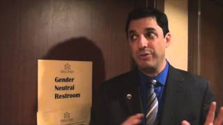 Gender neutral bathrooms at the American Atheist conference, Utah 2014