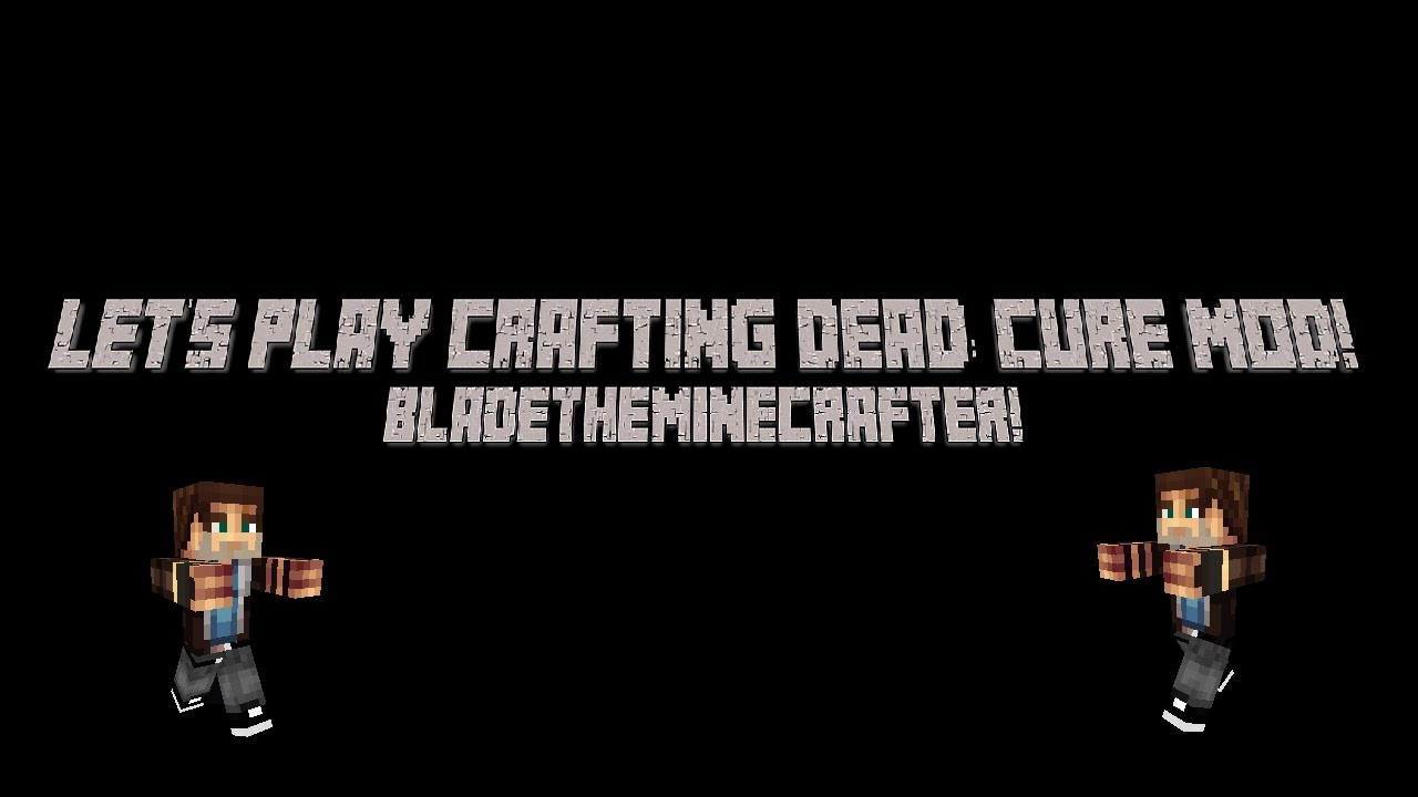 Minecraft lets play crafting dead cure s1 ep1 youtube