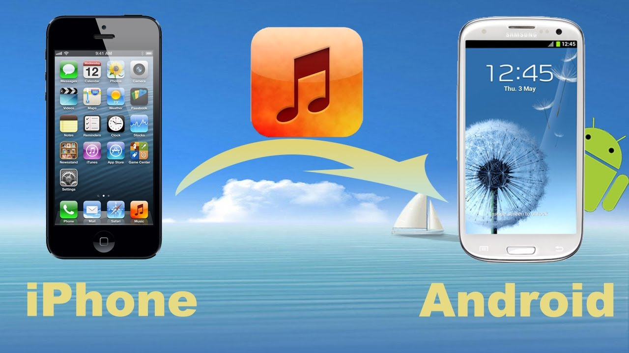 Phone Transfer From Iphone To Android Phone iphone music to android transfer how move or copy from phone