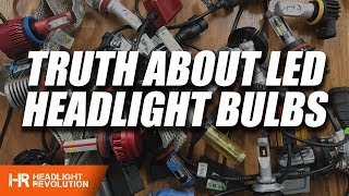 The TRUTH about LED Headlight Bulbs! WATCH BEFORE BUYING ANYTHING thumbnail