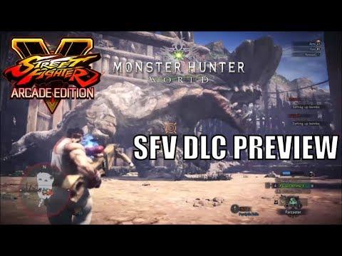 "Monster Hunter World - Street Fighter V DLC Preview - BIGGEST BARROTH - 3:03"" HBG"