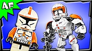 Lego Star Wars Clone Commander Cody Battle Figure 75108 Stop Motion Build Review