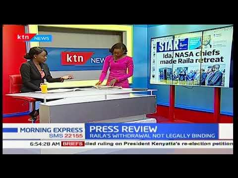 Ida Odinga reveals people who made NASA leader Raila Odinga to withdraw