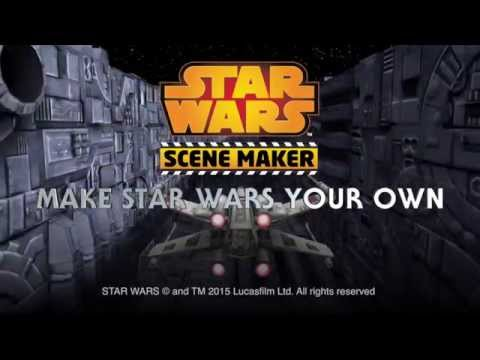 Star Wars Scene Maker app for iPad and iPhone