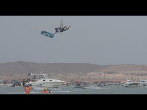 Nice Action at the Big Air Finals - Virgin Kitesurf World Championships - Venezuela 2015