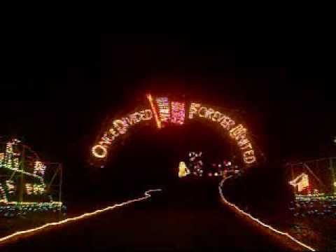Best Christmas Drive Thru - Celebration In Lights - Newport News Park, VA