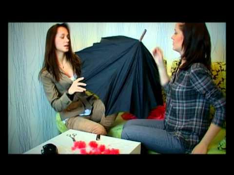 Украшаем зонтики своими руками