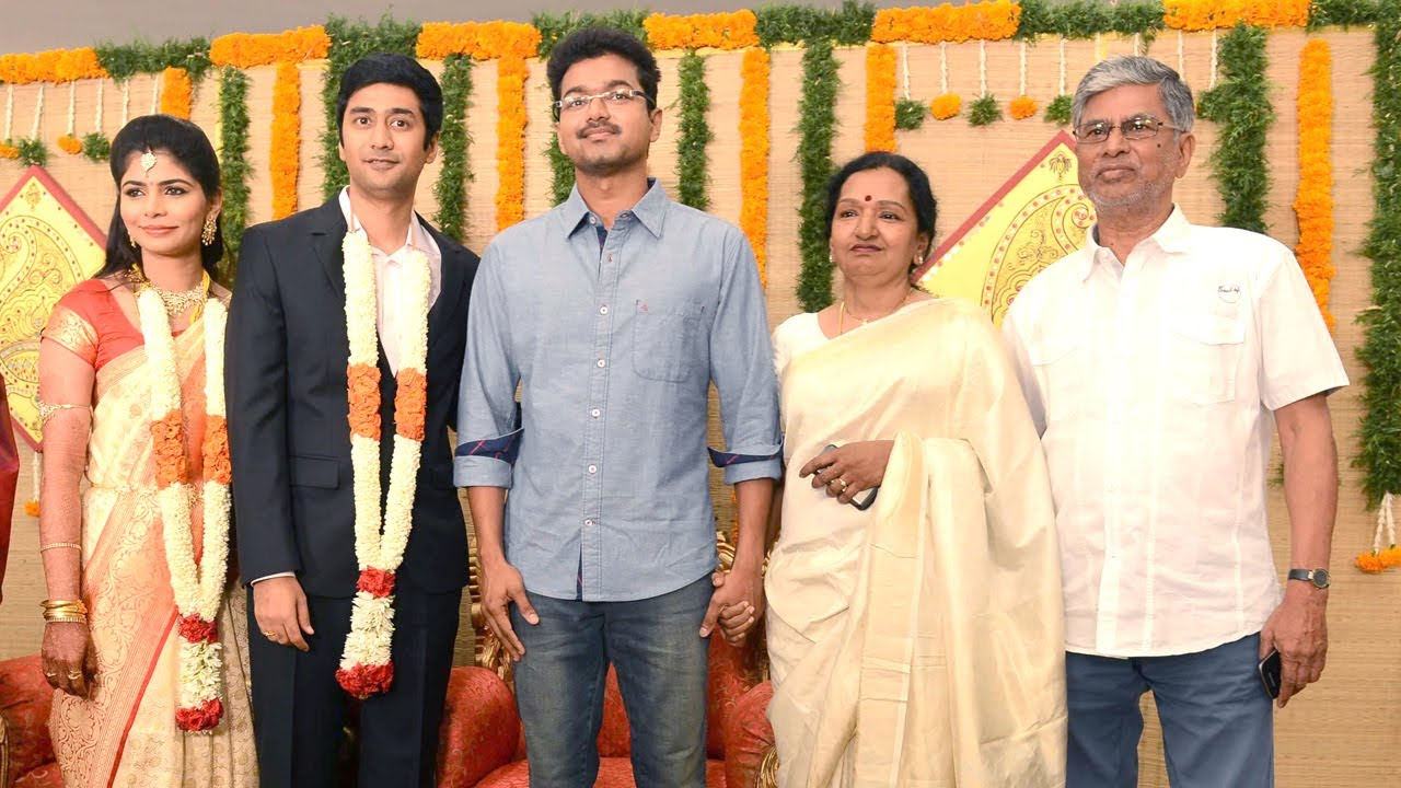 Chinmayi And Rahuls Wedding Reception