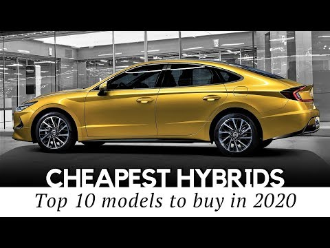 10 Cheapest Hybrid Cars Enhanced By Electric Motors For Better MPG In 2020