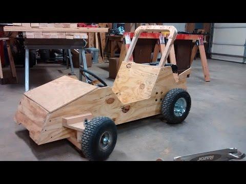 Wood Go Kart Winter Build Status Go Kart Guru Vlog November 2015