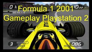 Formula 1 2001 Gameplay Playstation 2