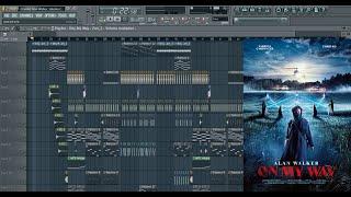 Alan Walker, Sabrina Carpenter & Farruko - On My Way (Full Instrumental/Karaoke) [FL Studio Project]