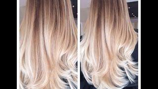 OMBRE/Окрашивания/Мои работы/Dyeing hair / My work /