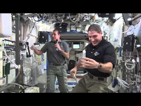 Station astronauts talk long distance with Texas students