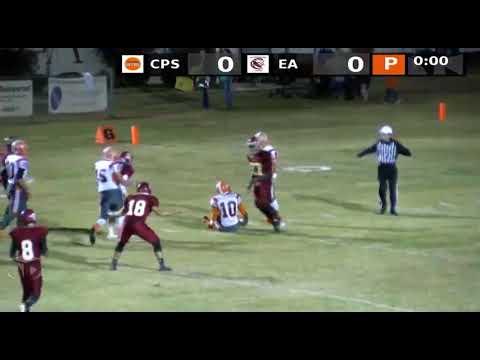 111116 Escambia Academy vs  Clarke Prep School Boys Varsity Football