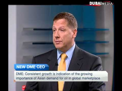 A chat with the incoming CEO of Dubai Mercantile Exchange
