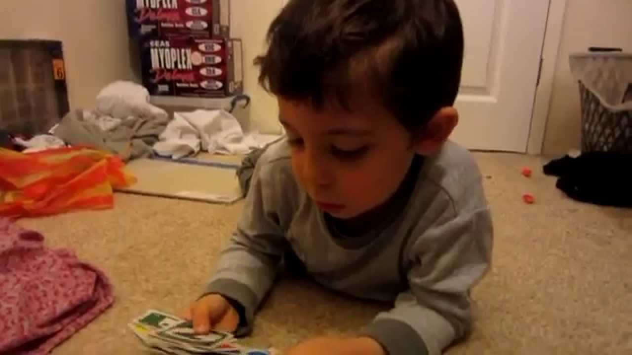 Cheating my son in game of UNO