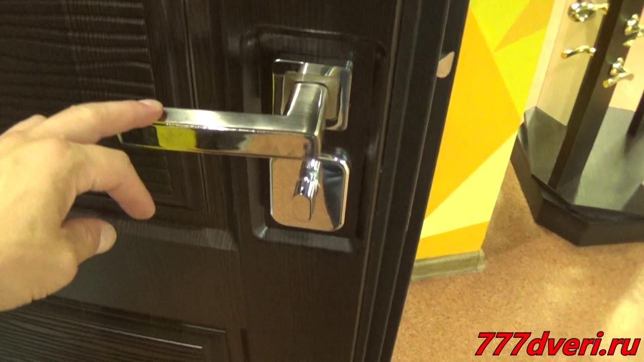 777dveri.ru Омск Легион T-2 входная дверь - YouTube