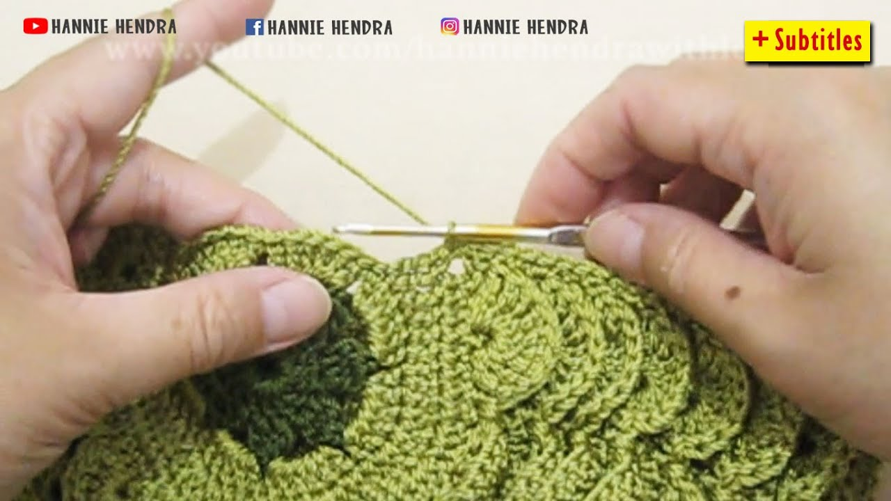 Crochet Tutorial Crochet Bag Shelly Crochet Bag Shell Stitch
