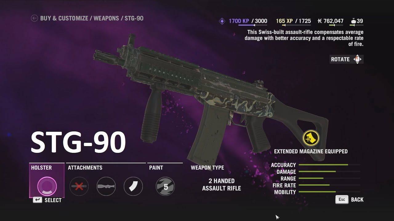 hight resolution of far cry 4 stg 90 assault rifle outpost liberation