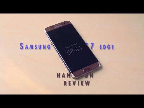 Samsung Galaxy S7 Edge Hands On Review Bangla
