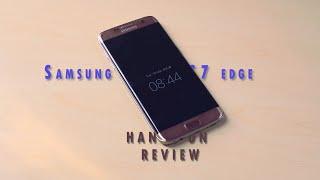 Samsung Galaxy S7 Edge Hands On Review Bangla