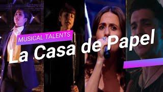 La Casa de Papel (Money Heist) Cast Singing Compilation