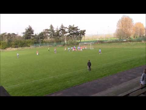 UCD AFC Goalkeeper With Last Minute Bicycle!